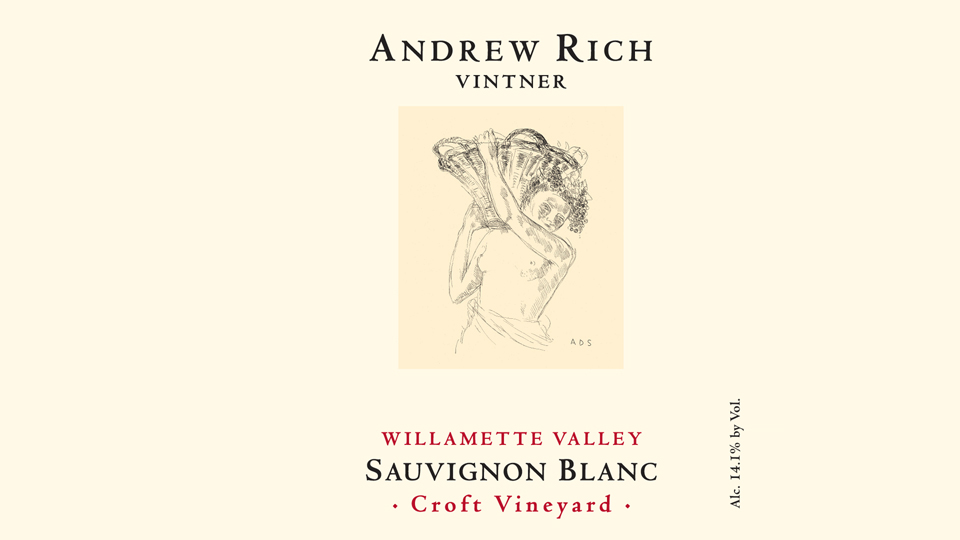 2016 Andrew Rich Sauvignon Blanc Croft Vineyard ($23.00) 91