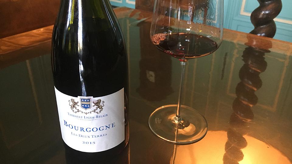 2015 Thibault Liger-Belair Bourgogne Les Deux Terres ($25.00) 89