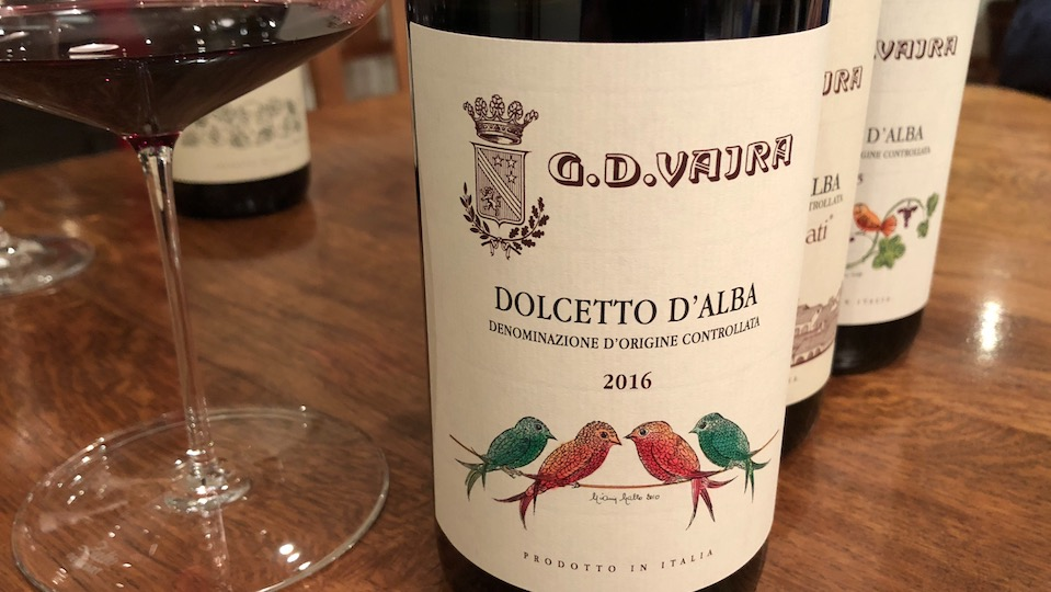 2016 G.D. Vajra Dolcetto d'Alba ($19.00) 89