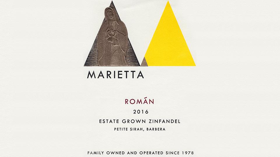 2016 Marietta Román ($23.00) 90