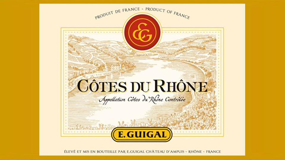 2016 E. Guigal Côtes-du-Rhône Blanc ($18.00) 90