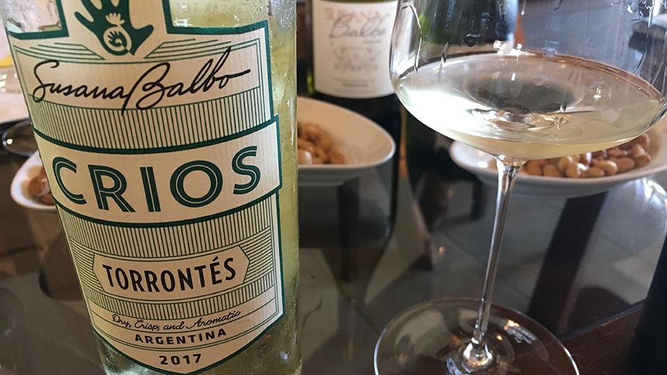 2017 Crios Torrontés Argentina ($15.00) 90