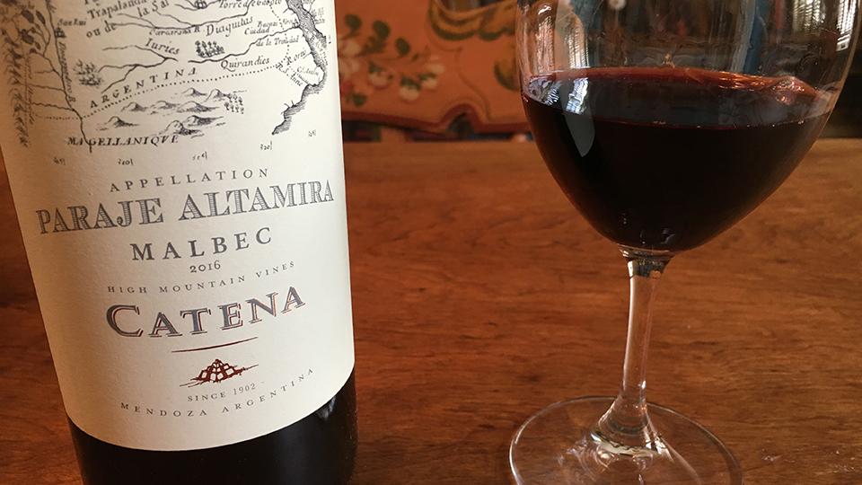 2016 Bodega Catena Zapata Malbec Appellation Paraje Altamira ($25.00) 91