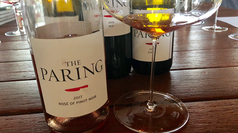 The Paring	2017 Rosé of Pinot Noir ($25) 90