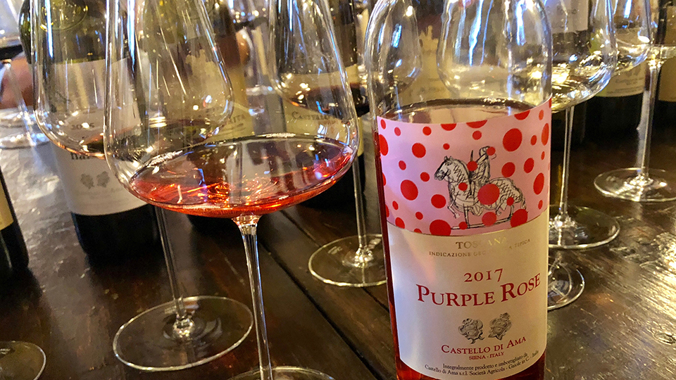 2017 Castello di Ama Purple Rose ($23.00) 90