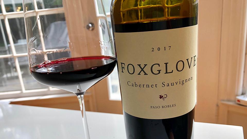 2017 Foxglove Cabernet Sauvignon($16.00) 89