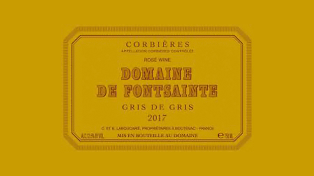 2017 Domaine Fontsainte Corbières Gris de Gris ($17.00) 90