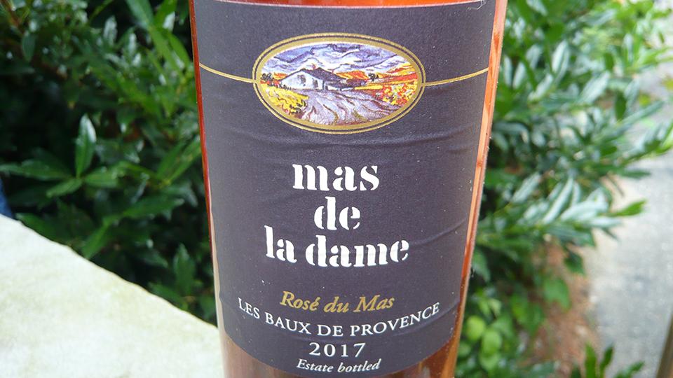 2017 Mas de la Dame Rosé du Mas Les Baux de Provence ($18.00) 90