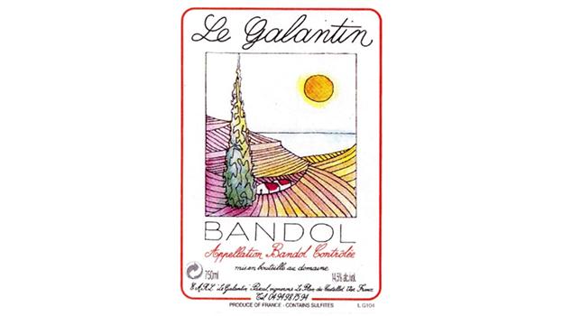2017 Le Galantin Rosé Bandol ($21.00) 90