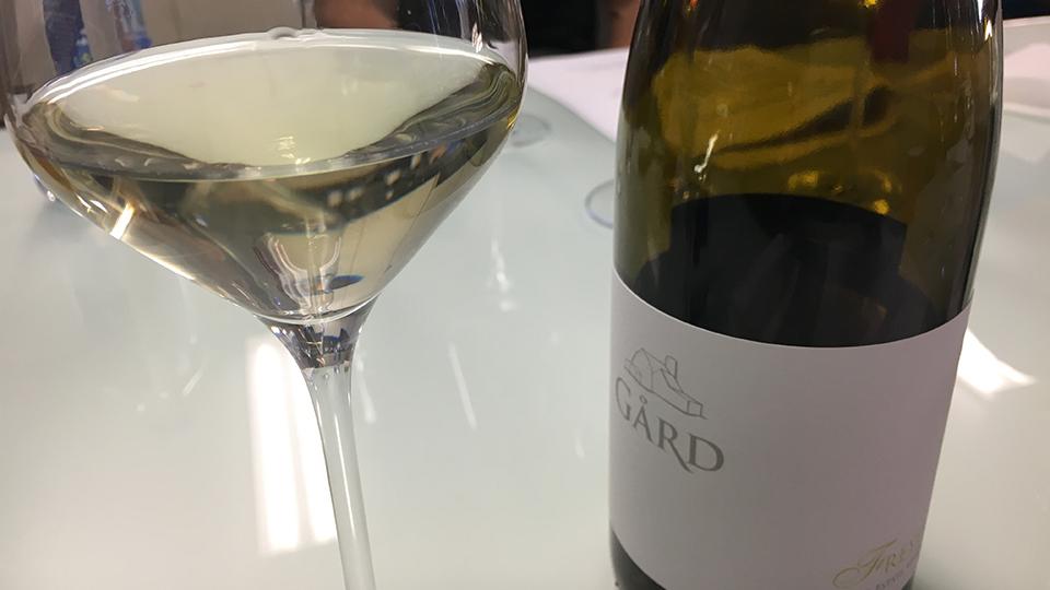 2017 Gard Vintners Freyja White Blend ($16.00) 90