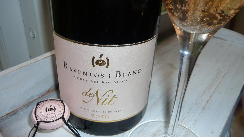 2016 Raventós i Blanc Rosé de Nit Métode Tradicional ($25) 91