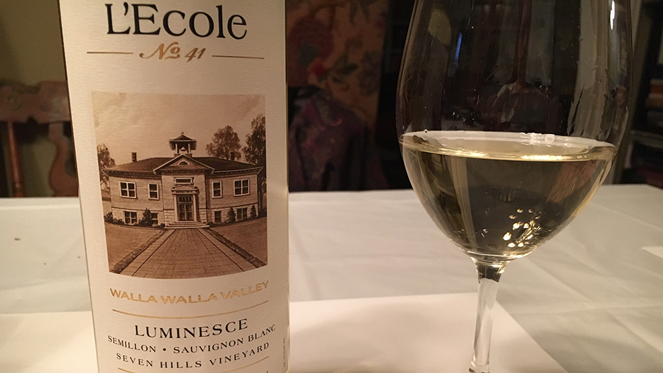 2017 L'Ecole No. 41 Luminesce Seven Hills Vineyard ($22.00) 90