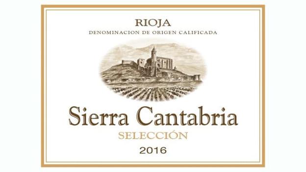 2016 Viñedos Sierra Cantabria Selección Rioja ($12.00) 90