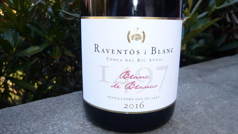 2016 Raventós i Blanc de Blancs Conca del Riu Anoia ($24.00) 91