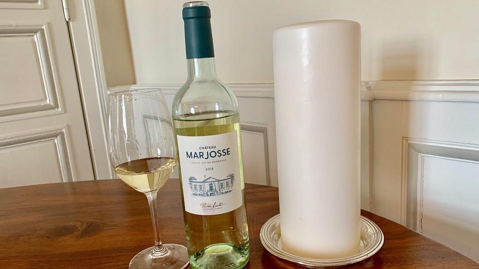 2018 Marjosse Blanc ($15.00) 89