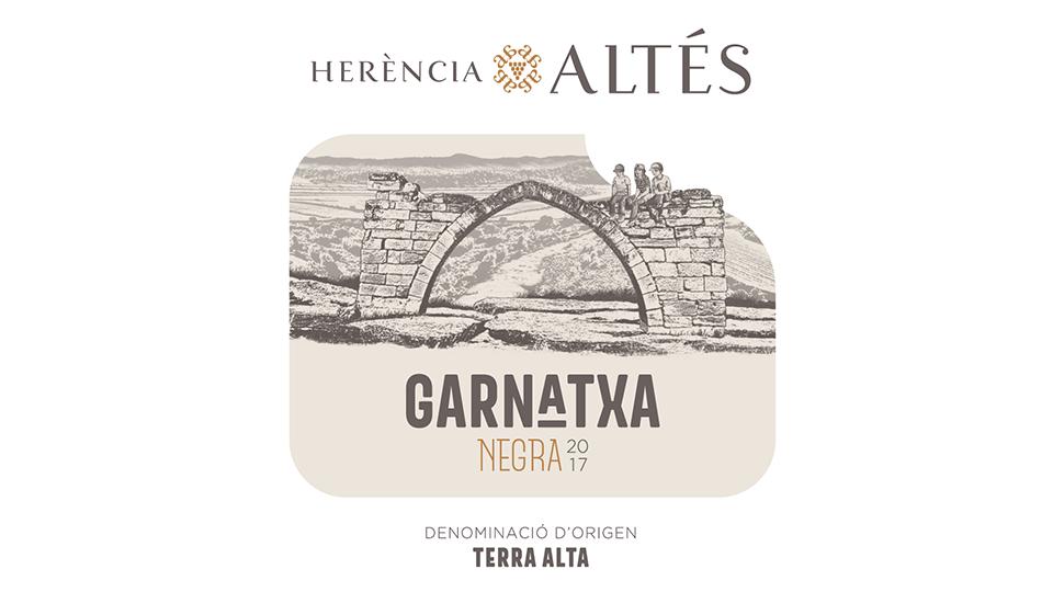2017 Herència Altés Garnatxa Negra Terra Alta