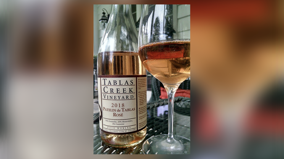2018 Tablas Creek Vineyard Patelin de Tablas Rosé ($25.00) 91