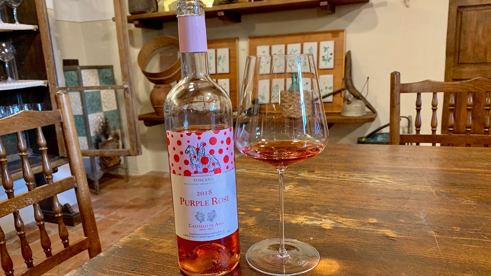 2018 Castello di Ama Purple Rose  ($22.00) 90