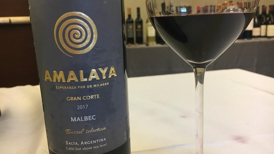 2017 Bodega Amalaya Malbec Gran Corte ($20.00) 90