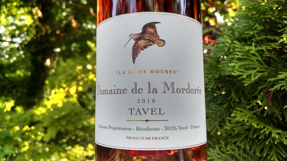 2018 Domaine de la Mordorée La Dame Rousse Tavel ($25.00) 92