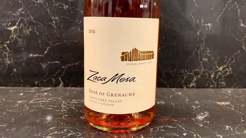 2018 Zaca Mesa Rosé of Grenache ($20.00) 90