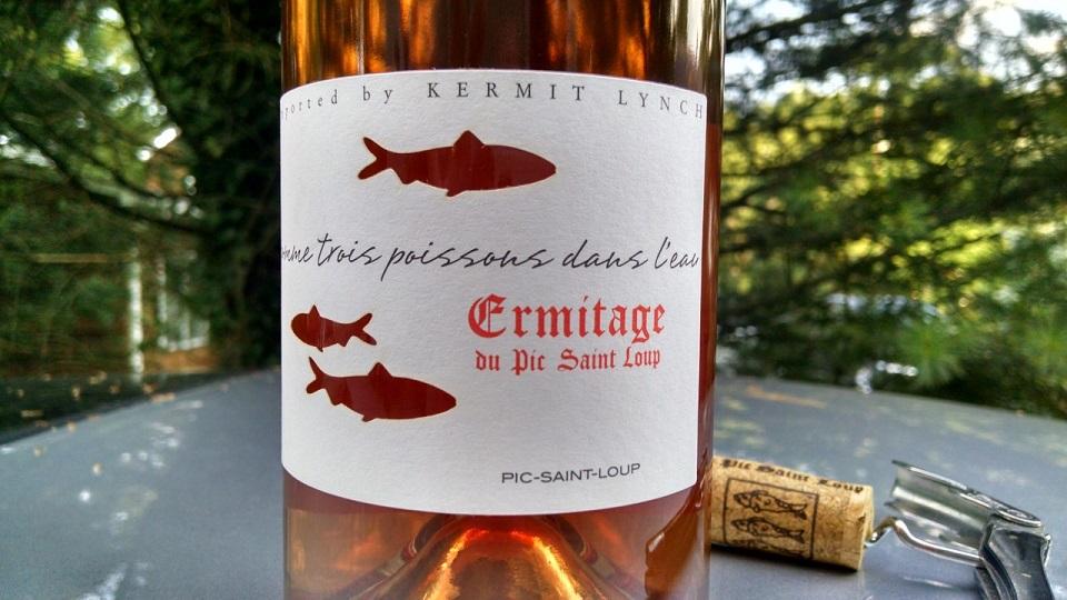 2018 Ermitage du Pic Saint Loup Rosé Comme Trois Poissons dans l'Eau ($19.00) 91