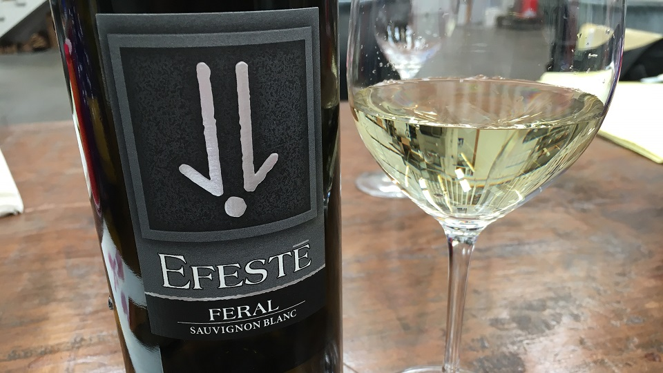 2018 EFESTÉ Feral Sauvignon Blanc Evergreen Vineyard ($22.00) 91