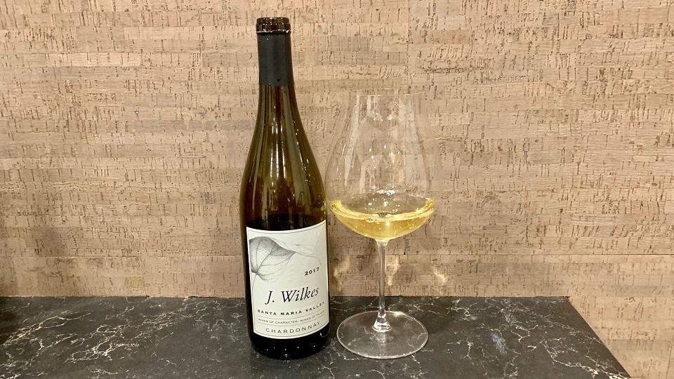 2017 J. Wilkes Chardonnay ($22.00) 91