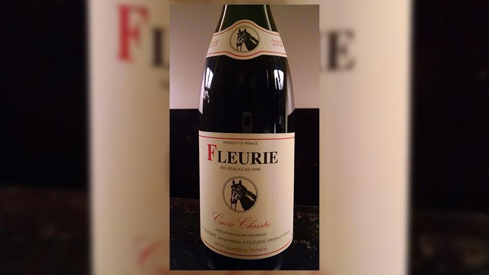 2018 Coudert Fleurie Cuvée Christie ($20.00) 92