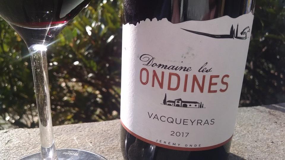 2017 Domaine Les Ondines Vacqueyras ($25.00) 91