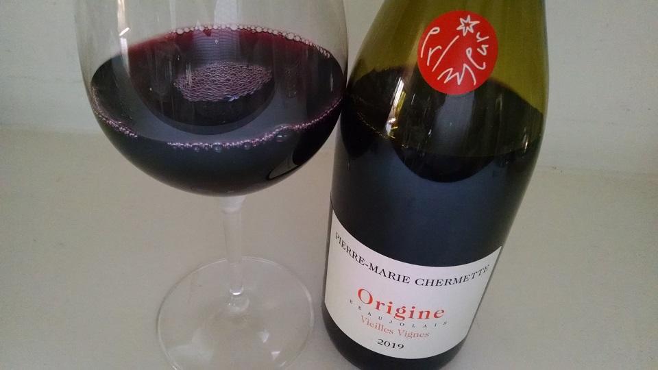 2019 Pierre-Marie Chermette Beaujolais Primeur Origine Vieilles Vignes ($18.00) 90