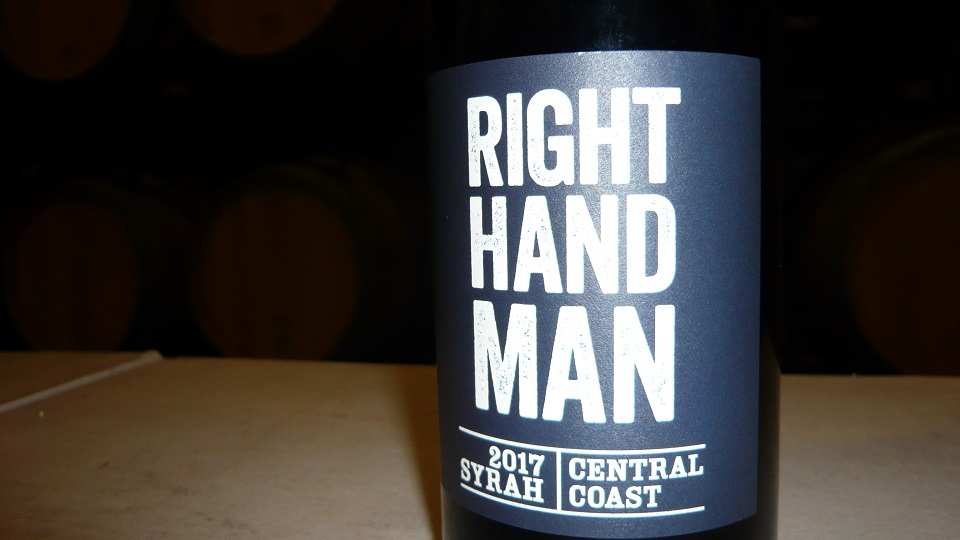 2017 Blue Collar Wines by McPrice Myers Syrah Right Hand Man ($20.00) 91