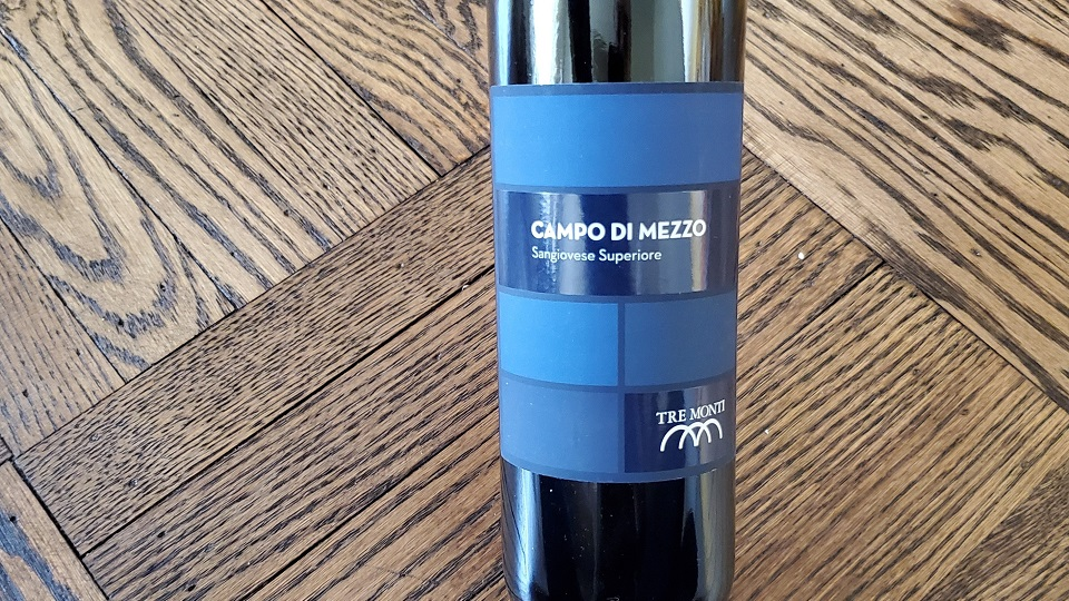 2018 Tre Monti Sangiovese Campo di Mezzo Romagna ($17.00) 90