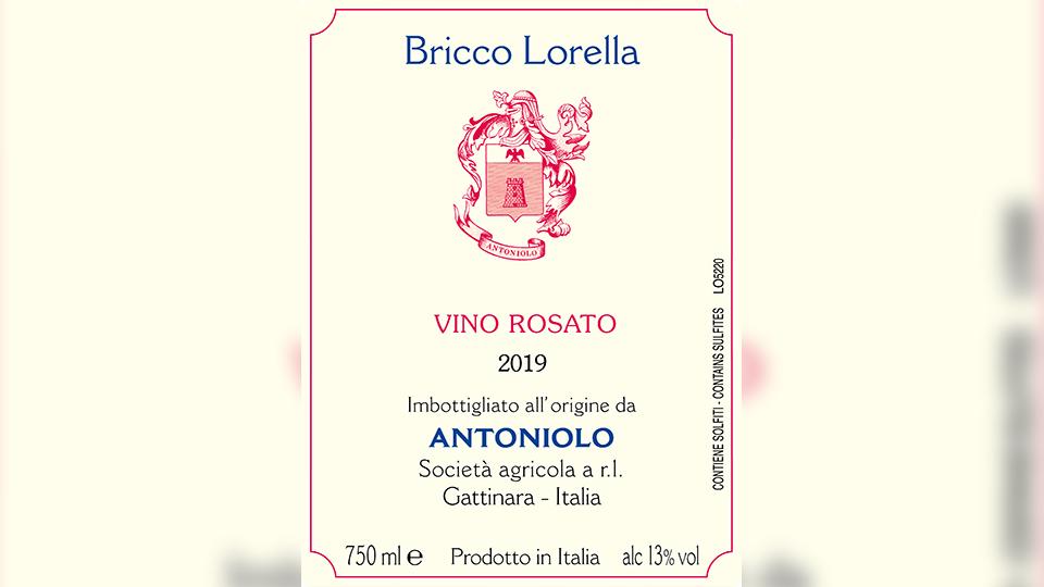 2019 Antoniolo Nebbiolo Rosato Bricco Lorella ($17.00) 90