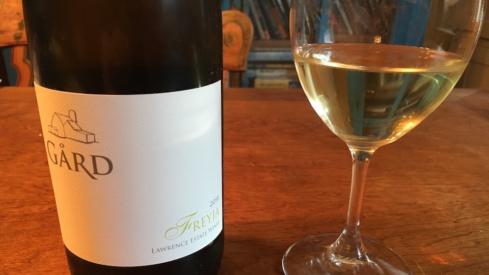 2019 Gard Vintners Freyja White Blend Columbia Valley ($16.00) 90
