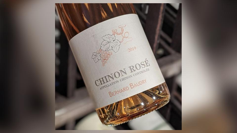 2019 Bernard Baudry Chinon Rosé ($25.00) 93