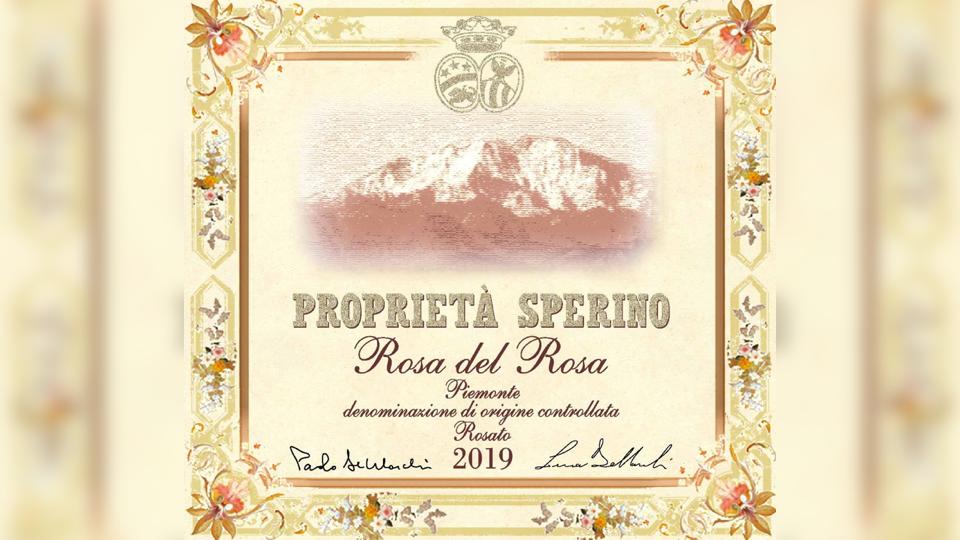 2019 Proprietà Sperino Rosa del Rosa ($19.00) 93