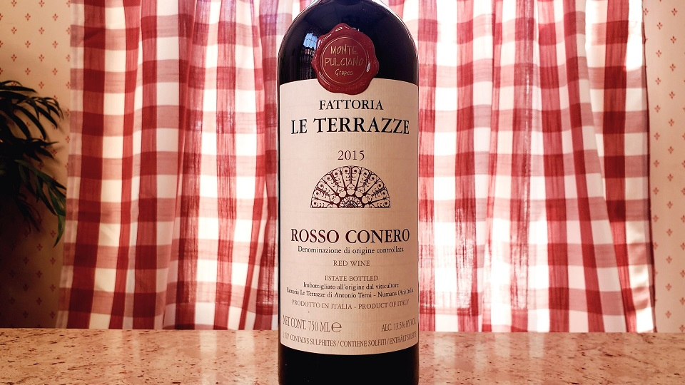 2015 Fattoria Le Terrazze Rosso Conero ($18.00) 91