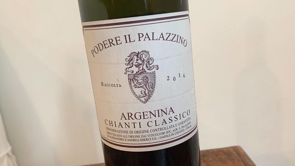 2016 Podere Il Palazzino Chianti Classico Argenina ($24.00) 93