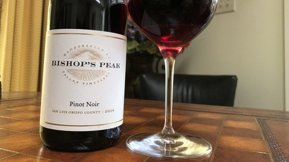 2018 Bishop's Peak Pinot Noir Arroyo Grande ($24.00) 91