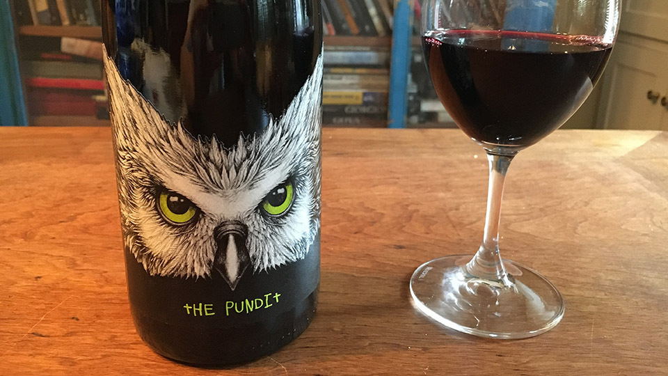 2017 Tenet Wines Syrah The Pundit Columbia Valley ($25.00) 90