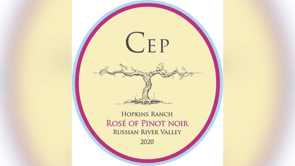 2020 Cep Vineyards Rosé of Pinot Noir Hopkins Ranch ($20.00) 90