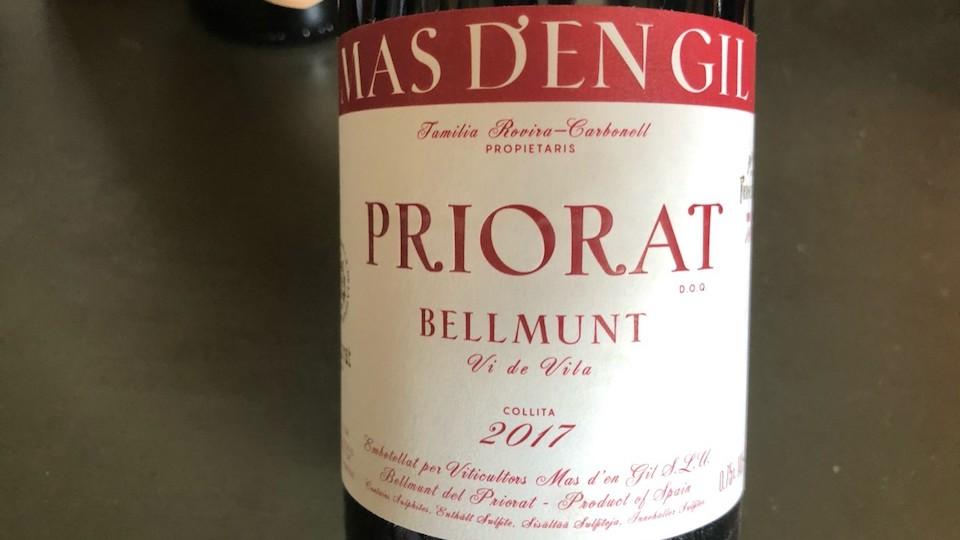 2017 Mas d'En Gil Bellmunt Vi de Vila Priorat ($25.00) 92