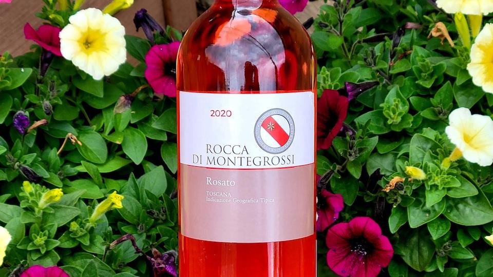 2020 Rocca di Montegrossi Rosato ($17.00) 92