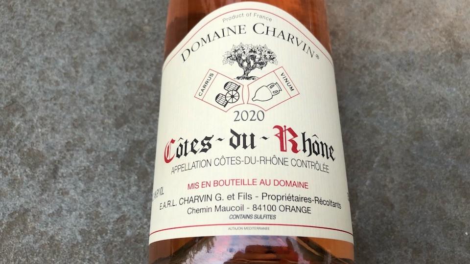2020 Domaine Charvin Rosé Côtes-du-Rhône