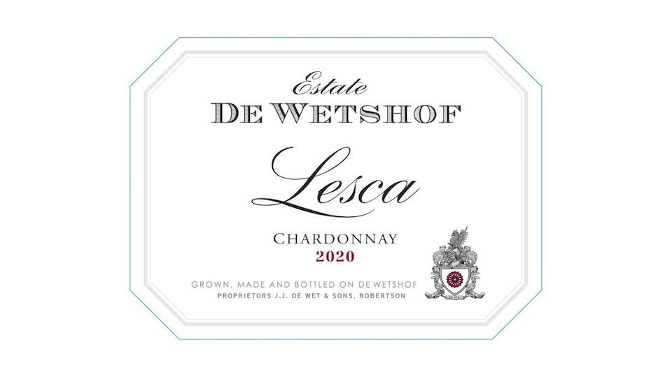 2020 De Wetshof Estate Chardonnay Lesca