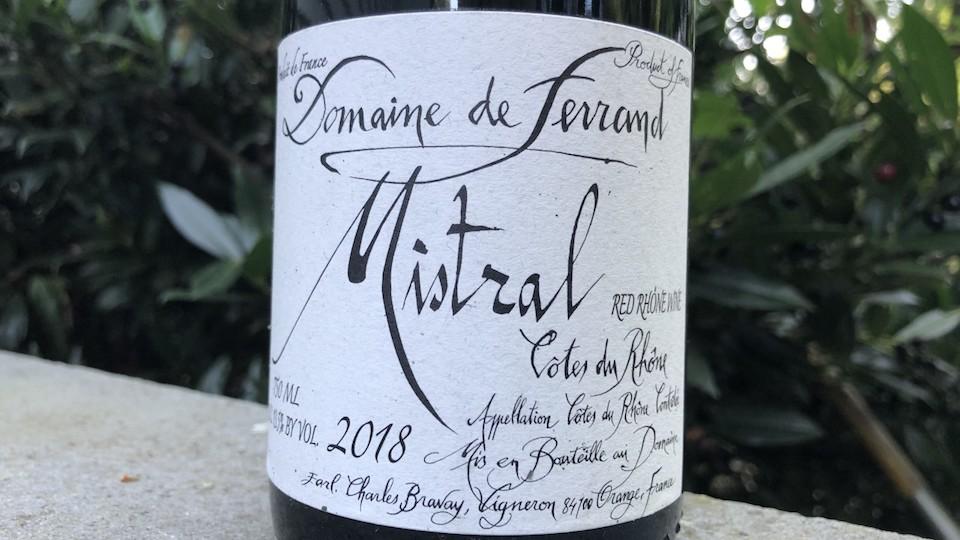2018 Domaine de Ferrand Mistral Côtes du Rhône