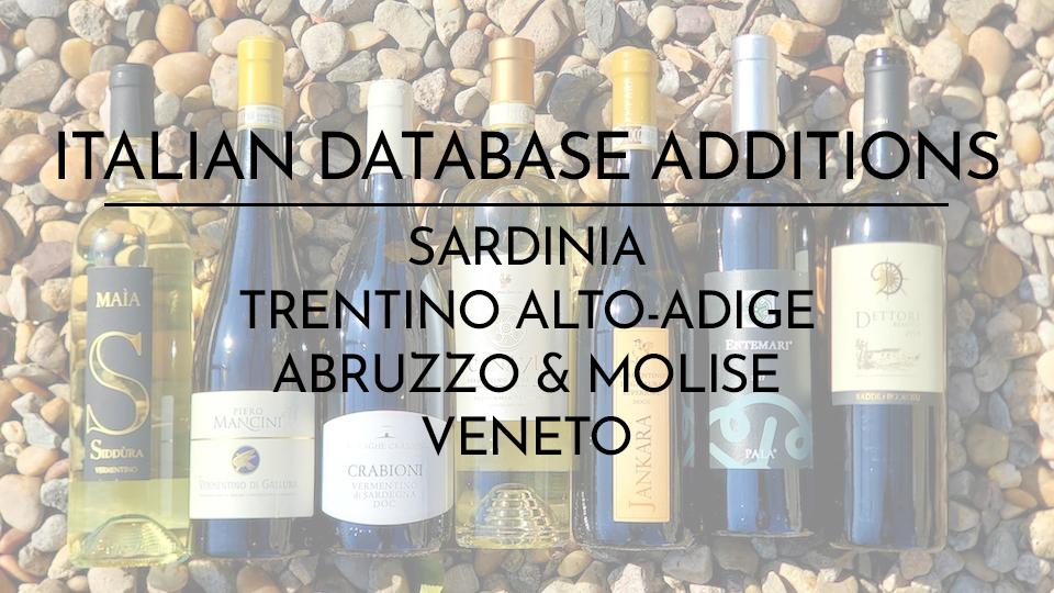 Database additions eg static cover 4
